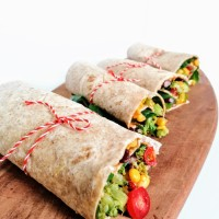 Vegane Hot Mexican Wraps